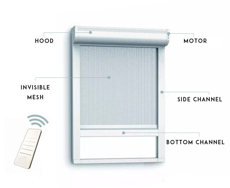 Details-of-Clearshield-motorised-fly-screen